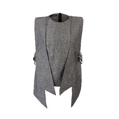 Picture of langardi dark grey vest