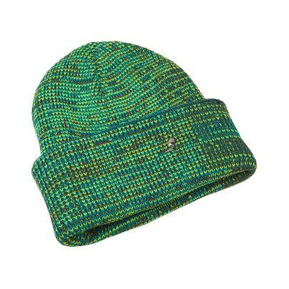 تصویر کلاه سبز آبی روشن