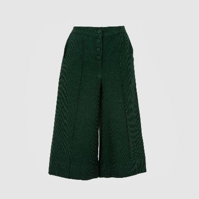Picture of green wool pants