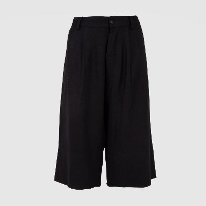 Picture of black wool pants