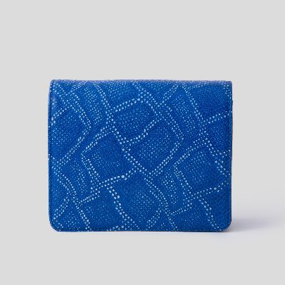 Picture of blue mini bella bag