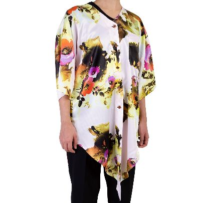 Picture of floral white blouse