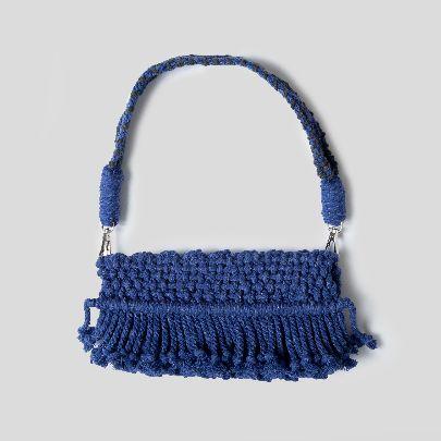 Picture of blue wave handbag