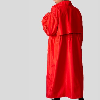 Picture of trench red coat