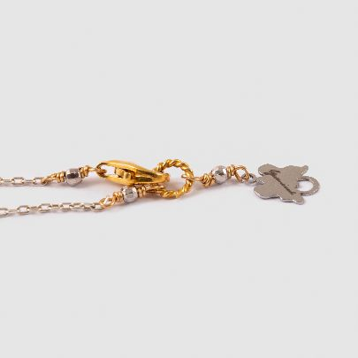 تصویر دستبند نقره شاه و ملکه