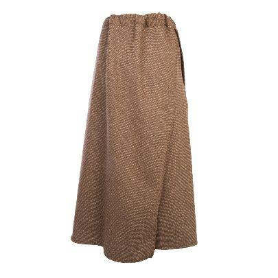 Picture of solmaz mahjoubifard woolen skirt