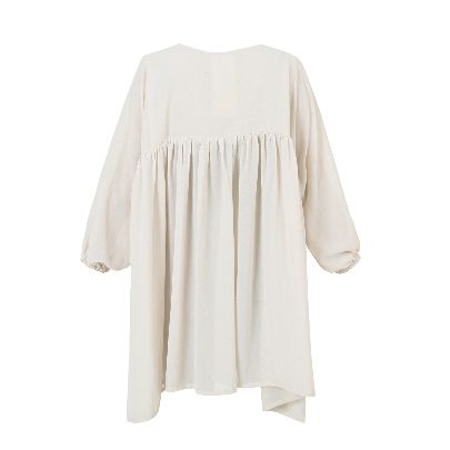 Picture of short beige dress