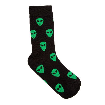 Picture of alien socks
