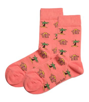 Picture of palm tree socks