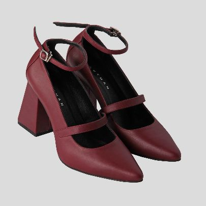Picture of merry red high heels