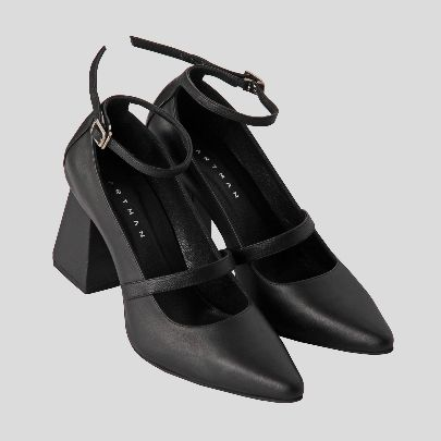 Picture of merry black high heels