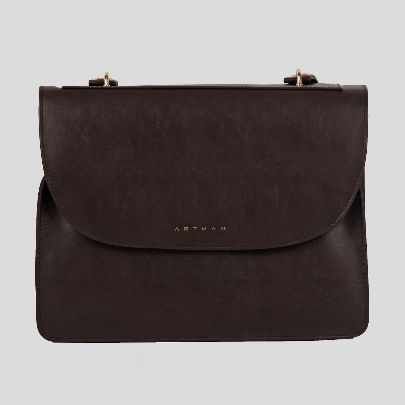 Picture of gianna dark brown bag