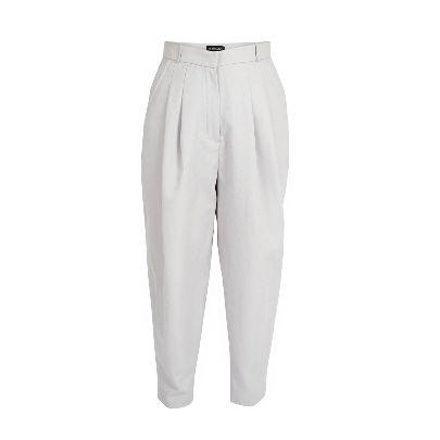 Picture of َaassttiinn light gray trousers