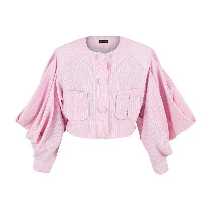 Picture of short pink coat