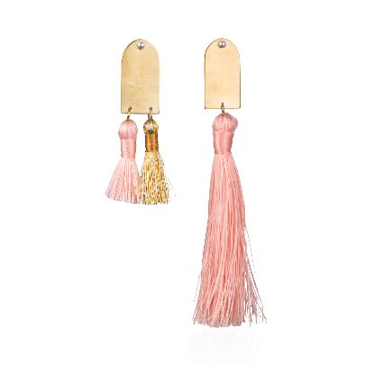 Picture of pink earrings
