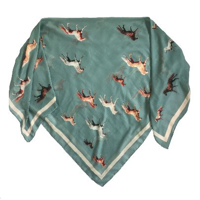 Picture of le timbre horse scarf