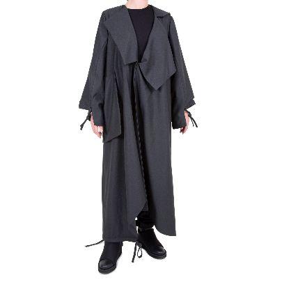 Picture of dark blue raincoat