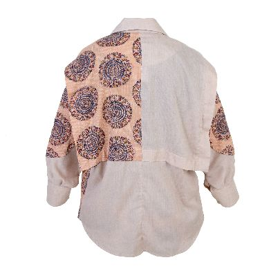 Picture of patterned blouse