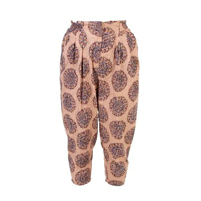 Picture of beige patterned pants