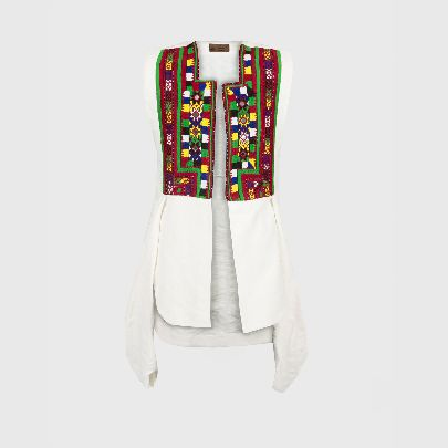 Picture of string baloch vest