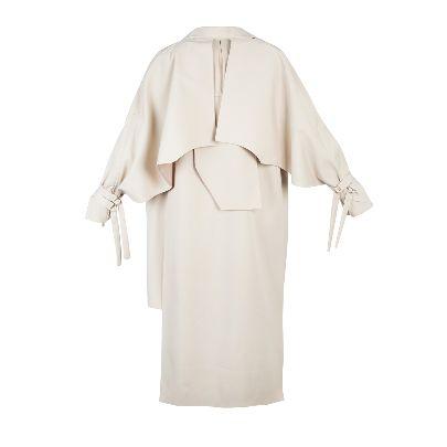 Picture of beige raincoat