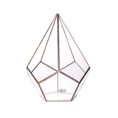 تصویر تراریوم الماس شکل شیشه ای