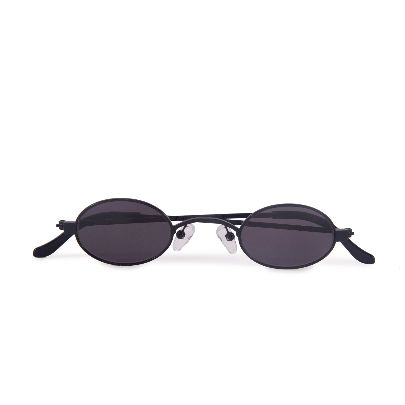 Picture of fade black doris round glasses