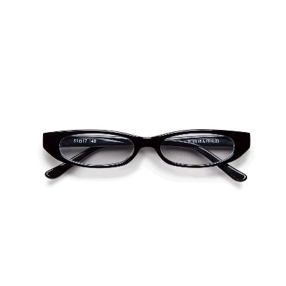 Picture of roberi & fraud black optical frances glasses