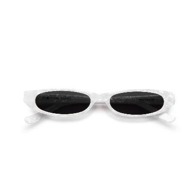 Picture of roberi & fraud white frances sunglasses