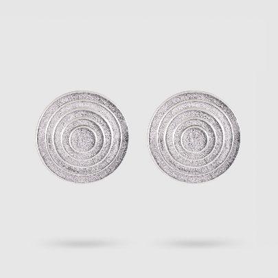 تصویر گوشواره داچک نقره ای
