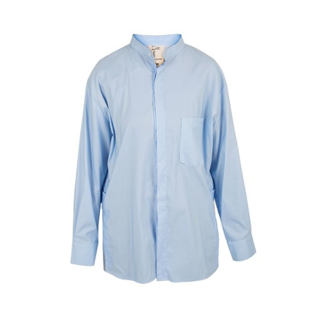 Picture of blue men's shirt