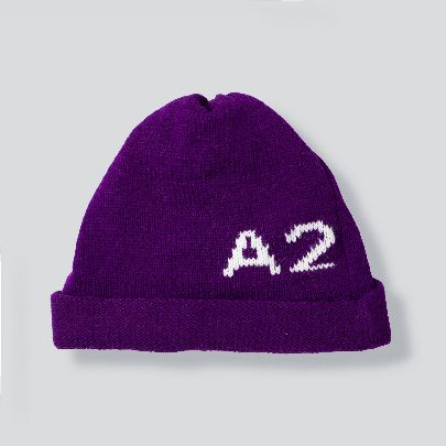 Picture of purple a2 hat