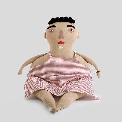 تصویر عروسک کنترل چی صورتی