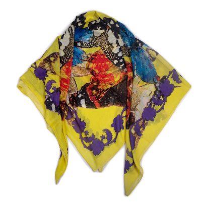 تصویر روسری زرد