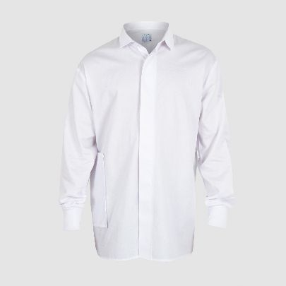 Picture of white simple blouse
