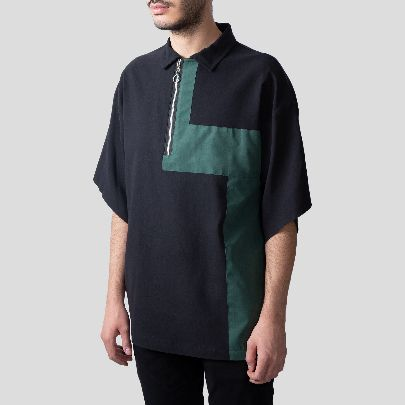 Picture of black & green tshirt