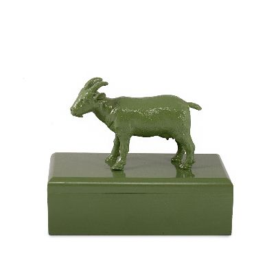 Picture of green sheep box