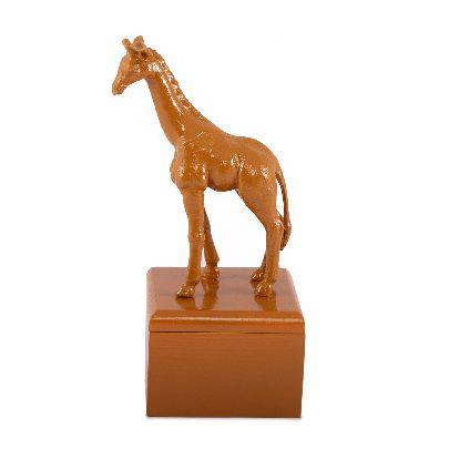 Picture of ochre giraffe box