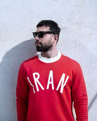 Picture of red iran hoodie