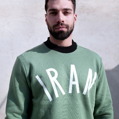Picture of green iran hoodie