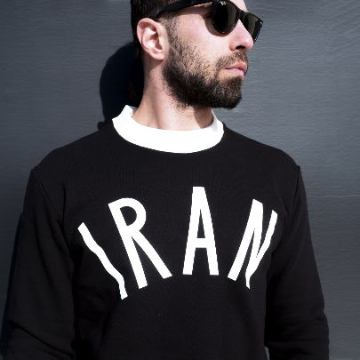 Picture of black iran hoodie
