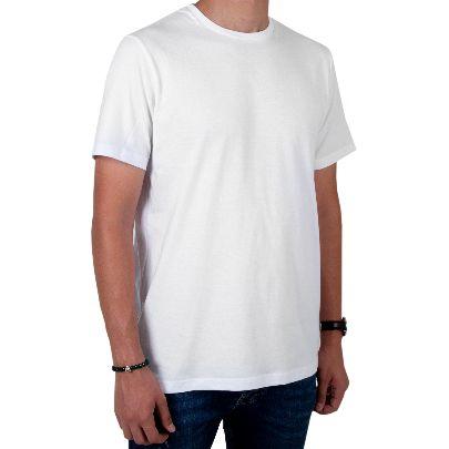 تصویر آستین کوتاه سفید زنانه
