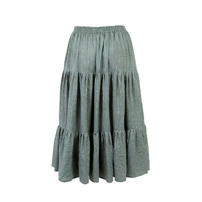 Picture of three tiered skirt