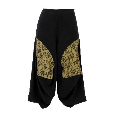 Picture of samurai patterned smooth pants