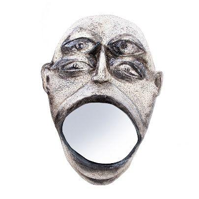 تصویر آینه چشم ها
