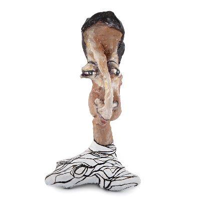 Picture of pari nafti statue