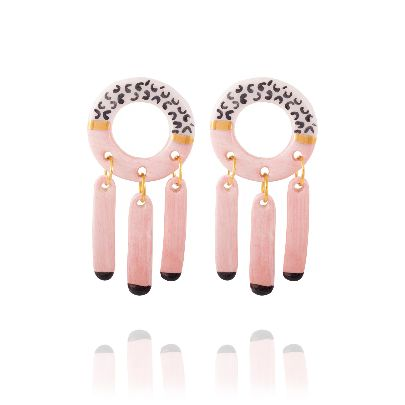 Picture of pink sky earrings