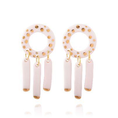 Picture of golden sky earrings
