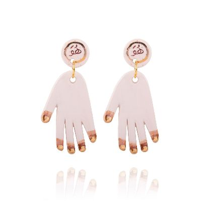 Picture of hands earrings