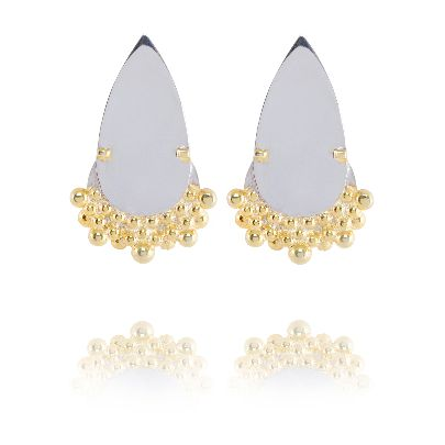 Picture of cloud and rain earrings